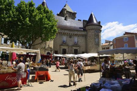 Marché d'Aubenas
